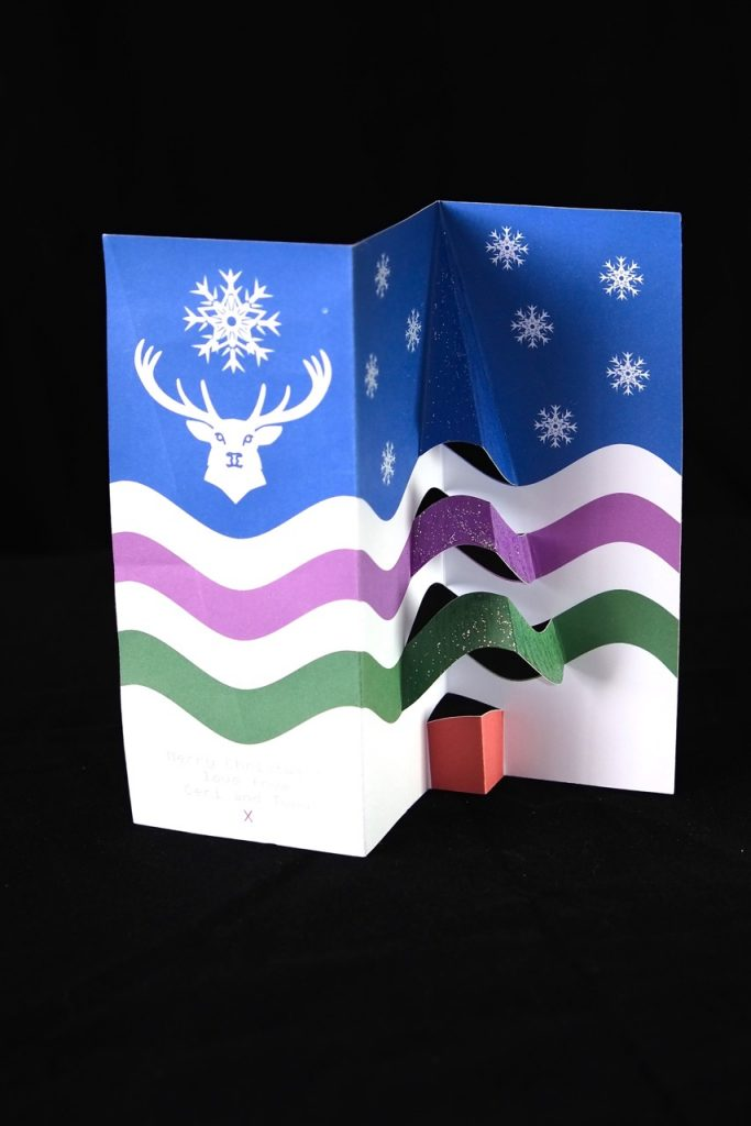 Exmoor Flag Christmas Card