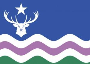 Exmoor Flag Postcard