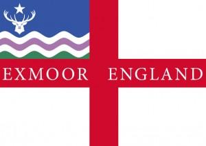 Exmoor Flag Postcard George Cross