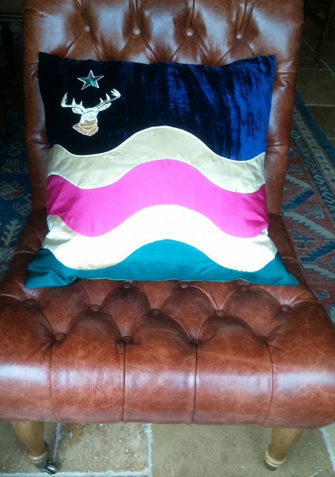 Exmoor Flag Cushion