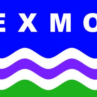 Exmoor Flag Windw Sticker