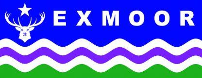 Exmoor Flag Windw Sticker